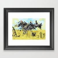 Building A Better Buffal… Framed Art Print