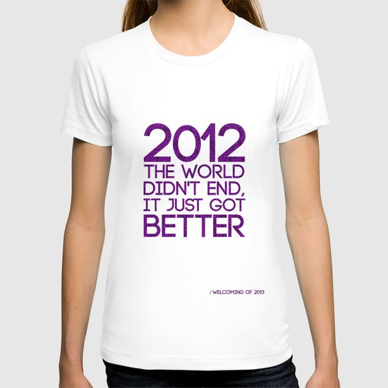 2012...It Was Emotional T-shirt