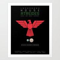 House Atreides Art Print