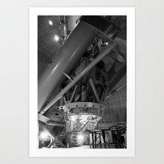 Macro(cosm)scope Art Print