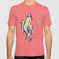 Gshhhh Mens Fitted Tee Pomegranate SMALL