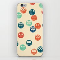 Owl Spots iPhone & iPod Skin