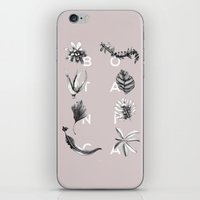 Botanica Letters | Powder iPhone & iPod Skin