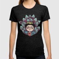 frida Womens Fitted Tee Tri-Black SMALL