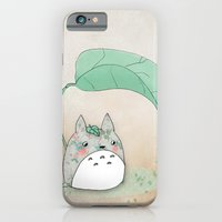 Floral Totoro iPhone 6 Slim Case