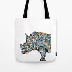 Rhino-no text Tote Bag