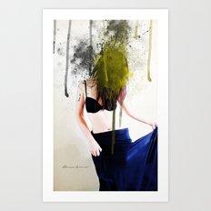 Her Soul Art Print