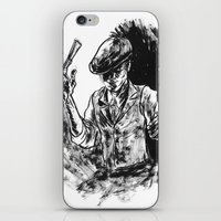 One Armed Gangster iPhone & iPod Skin