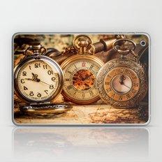 Vintage Clocks Laptop & iPad Skin