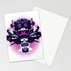 Rorschach madness Stationery Cards