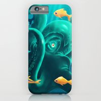 iPhone & iPod Case featuring Octopus by Jaaaiiro