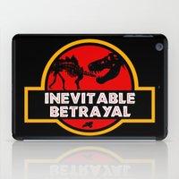 Jurassic Betrayal iPad Case