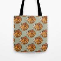 trick or treat? - pattern Tote Bag