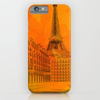 iPhone & iPod Case featuring Parisian Sunsets by Texnotropio
