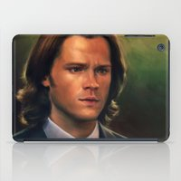 Sam Winchester from Supernatural iPad Case