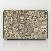 gargoyles vintage iPad Case