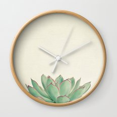 Echeveria Wall Clock