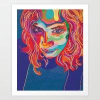 self portrait n1 Art Print