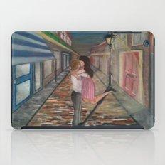 A Kiss in Paris iPad Case