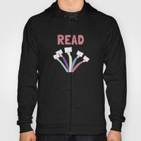 Read a book. Hoody