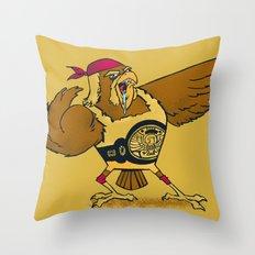 HAWKAMANIA! Throw Pillow