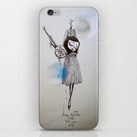 Songs That Were Blue, So… iPhone & iPod Skin