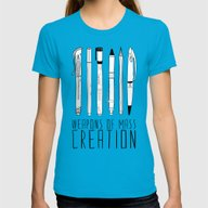 T-shirt featuring Weapons Of Mass Creation by Bianca Green