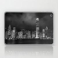Hong Kong Skyline [Black… Laptop & iPad Skin