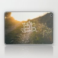 Laptop & iPad Skin featuring The Road by Pocket Fuel