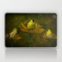 A Family of Goldfinch Laptop & iPad Skin