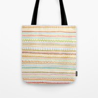 Pencil Doodles Tote Bag