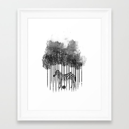 Natural Prisoner Framed Art Print