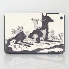 Le Loup et les Sept Chevreaux iPad Case