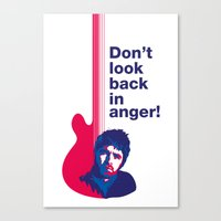 Noel Gallagher - Don't Look Back In Anger 02 Canvas Print