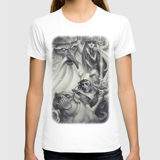 Another Castle :: Duotone Print T-shirt