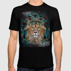 Fight For What You Love (Chief of Dreams: Lion) Tribe Series Mens Fitted Tee Black SMALL