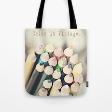 Color it Vintage Tote Bag