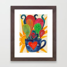 Demetria Framed Art Print