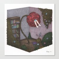 Time of Flower Canvas Print