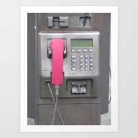 The Phone Art Print