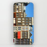 Line Up In Amsterdam. iPhone & iPod Skin
