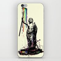 God of Graffiti iPhone & iPod Skin