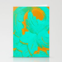 carved wood III Stationery Cards