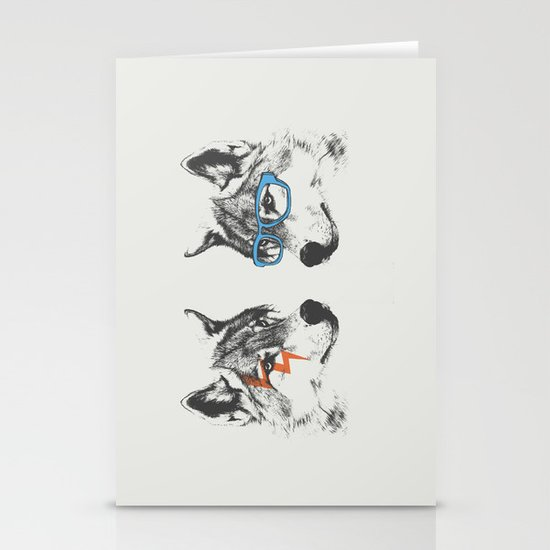 Brothers Stationery Card