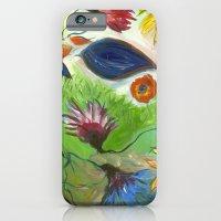 Flower Swirls iPhone 6 Slim Case