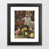 man 'splain Framed Art Print