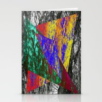 Abstract 8888 Stationery Cards