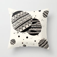 Pattern Doodle One Throw Pillow