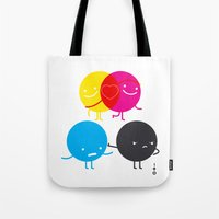 YM Love CK Hate Tote Bag