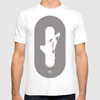 sauce Mens Fitted Tee White SMALL